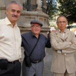 Alfonso Gumucio, Renato Prada y Raúl Teixidó