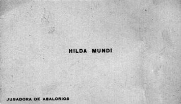 Hilda Mundi